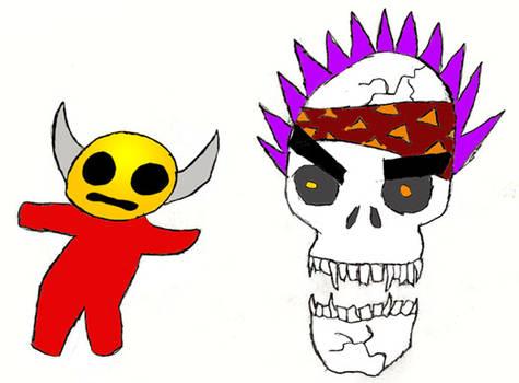 Radiskull nd Devil Doll by lidstrom