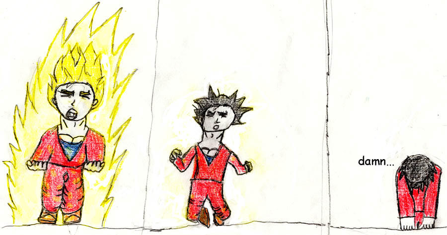 dbz comic strip