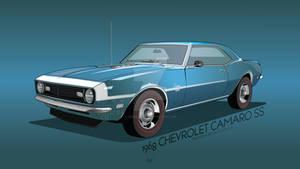 1968 Chevrolet Camaro SS HD
