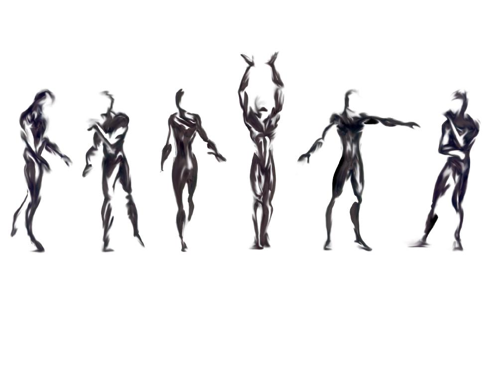 Shadows - body study by iliadspy