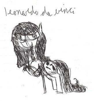 Leonardo Da Vinci by alixandria55555