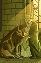 Wolf and Zelda - REMIX by om-nom-berries