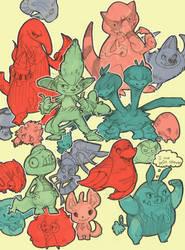 Show Me Your Pokemon by raddishh
