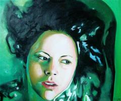 Ophelia 1 by JessieLucidArt