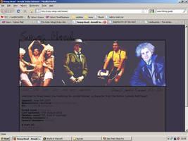 Old website design: Arnold Rimmer by jadedlioness