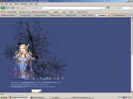 Old website design: Queldorei.net by jadedlioness