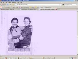 Old website design: Han and Lando by jadedlioness