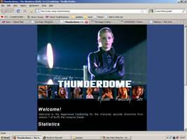 Old website design: Showtime by jadedlioness