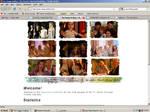 Old website design: Forever Charmed