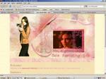 Old website design: Bela Talbot