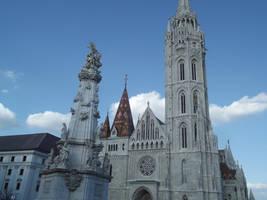 Budapest: Matthias Church #9 by jadedlioness