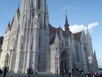 Budapest: Matthias Church #12 by jadedlioness