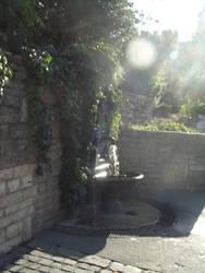 Budapest: Water fountain #1 by jadedlioness