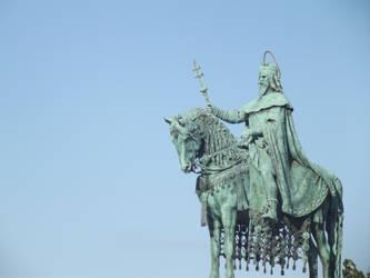 Budapest: Knight Monument #1 by jadedlioness