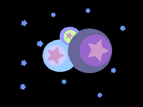 Stars and Circles Design