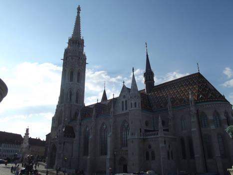 Budapest: Matthias Church #16 by jadedlioness