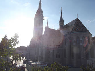 Budapest: Matthias Church #19 by jadedlioness