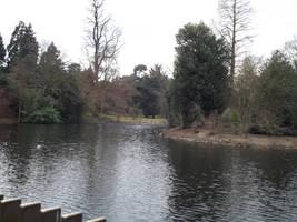 Kew Gardens: Lake #1 by jadedlioness