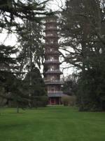 Kew Gardens: Chinese Pagoda #2 by jadedlioness