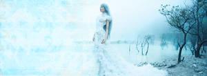 Ice Queen RPG forum header / signature / banner by jadedlioness