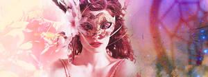 Lily Masque - RPG forum header/signature/banner by jadedlioness