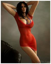 Little Red Dress by jjforte06