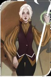 Inquisitor Lavellan by whizumi