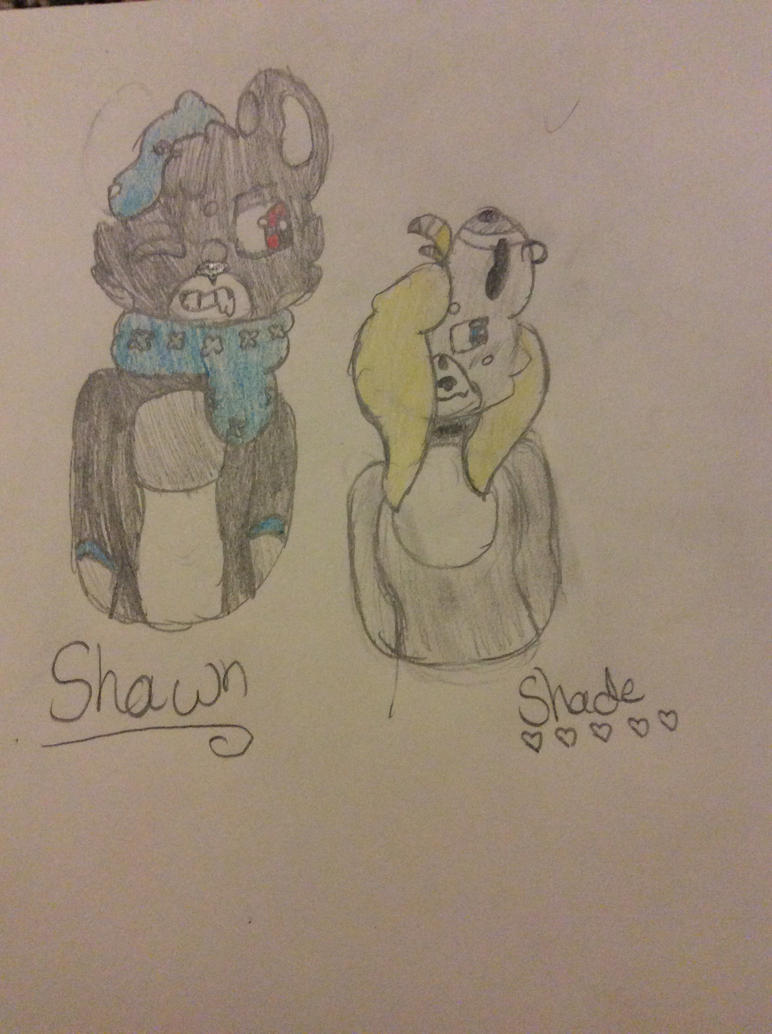 Shawn and shade x3 by Shadethewolf345