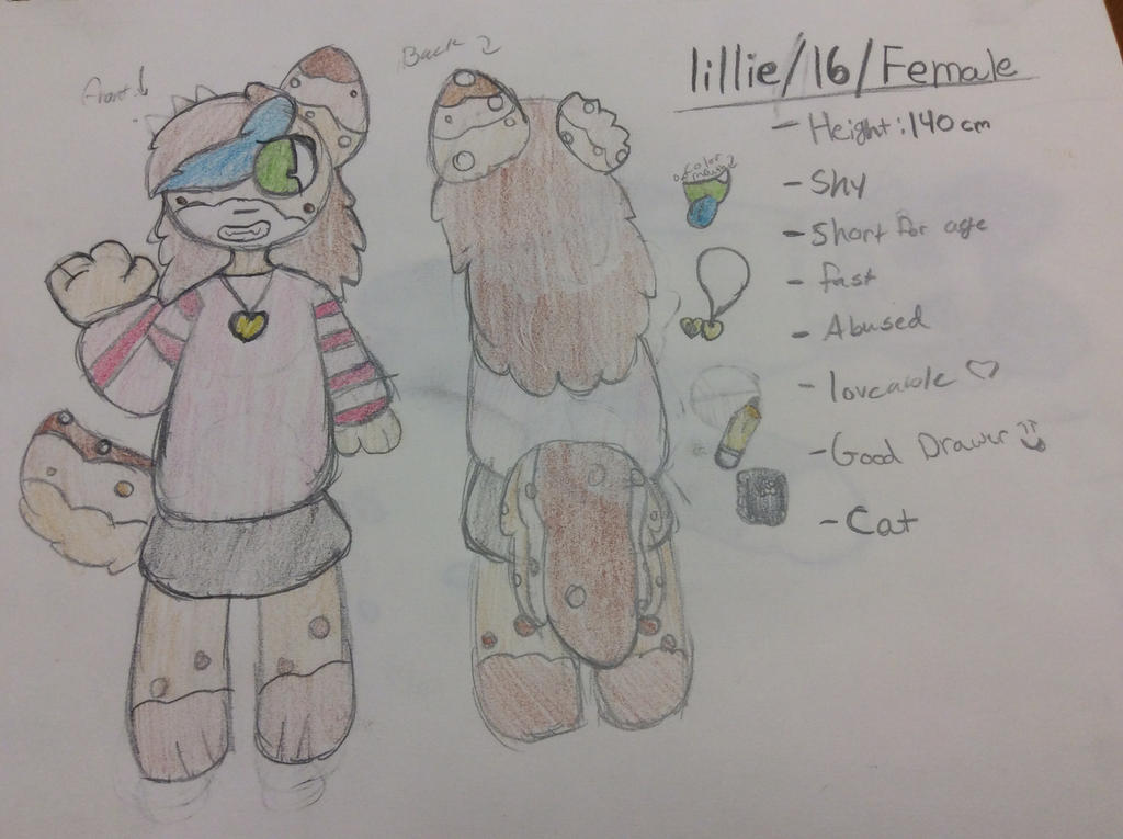 Lillie the cat by Shadethewolf345