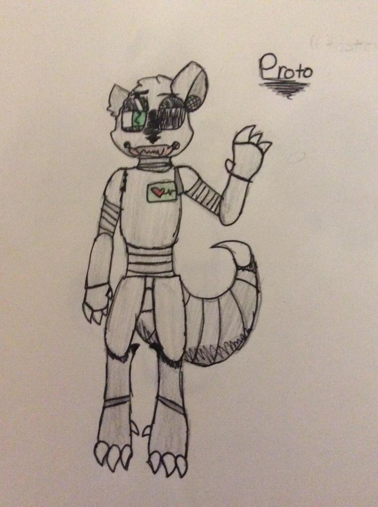 Proto the robo cat by Shadethewolf345