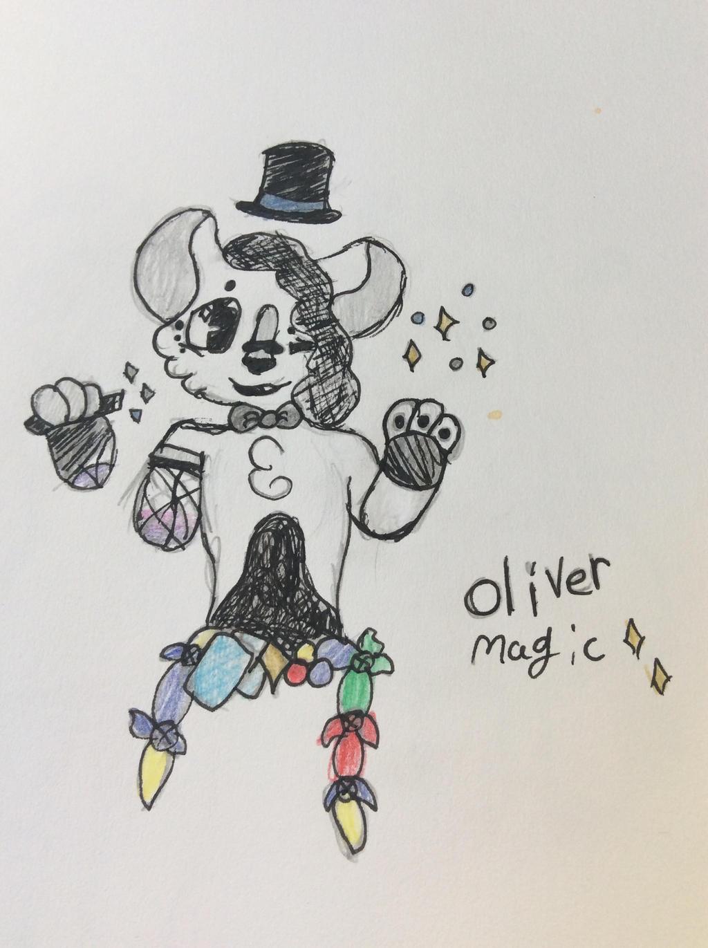 Oliver stap da magic  (com/gif) by Shadethewolf345