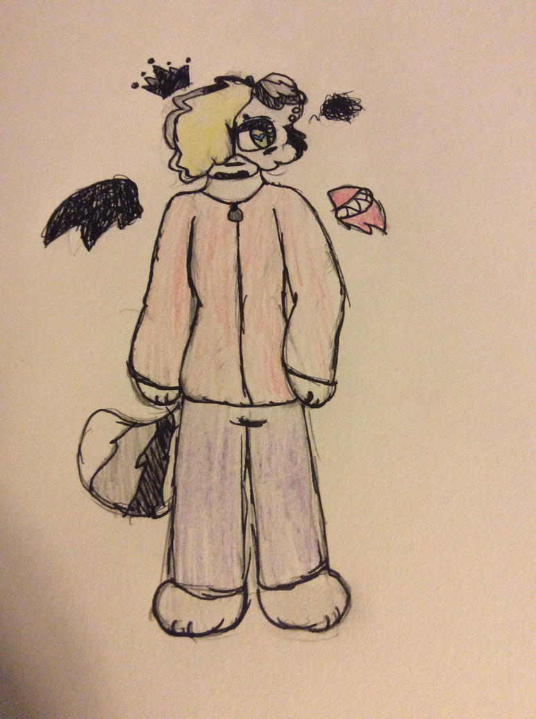 Shade as a boy...did anyone ask for this?!?! no?ok by Shadethewolf345