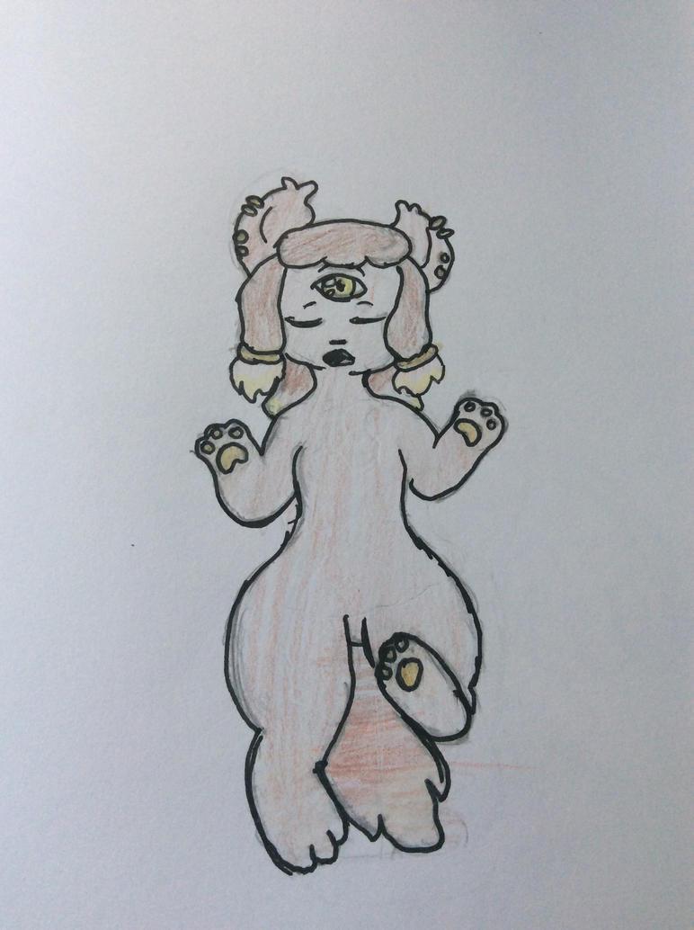 A myth..Nah! (Art trade) by Shadethewolf345