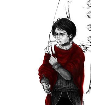 Tywin's red coat