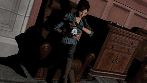 Lara and Scion by MaximCroft