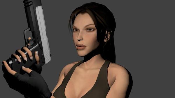 Lady Lara Croft by MaximCroft