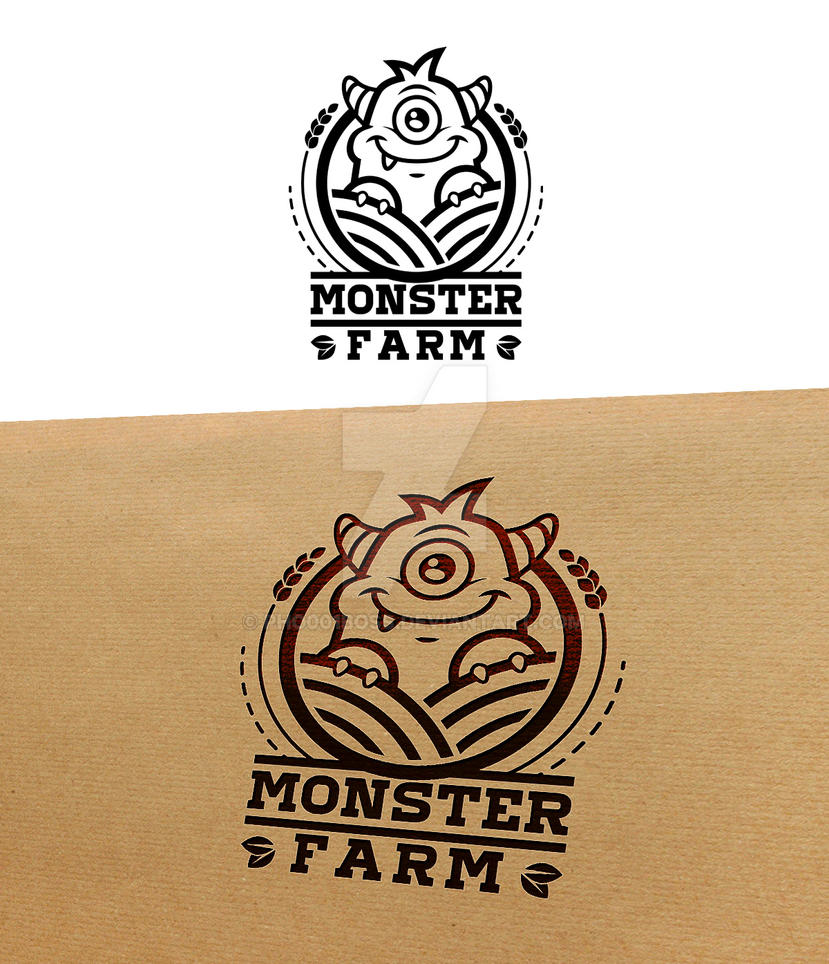 Monster Farm logo by pho001boss