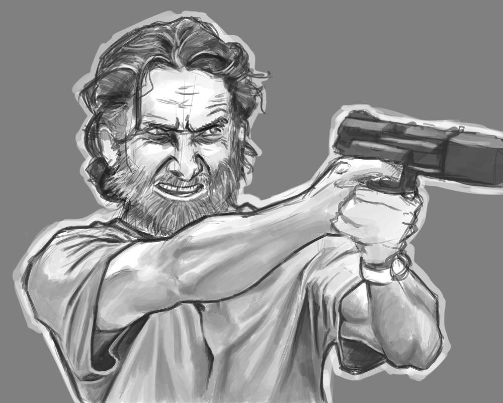 Rick Grimes by pho001boss
