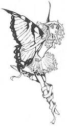 Bat with Butterfly Wings -old-