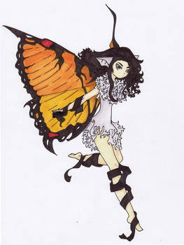 Bat with Butterfly Wings