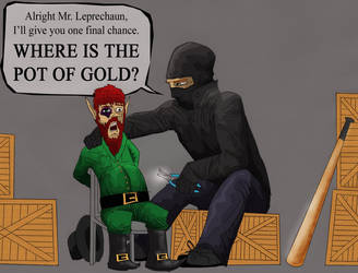 Leprechaun Interrogation by turtlegodz