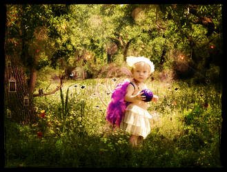 The Elusive Forest Fairy by krissybdesigns