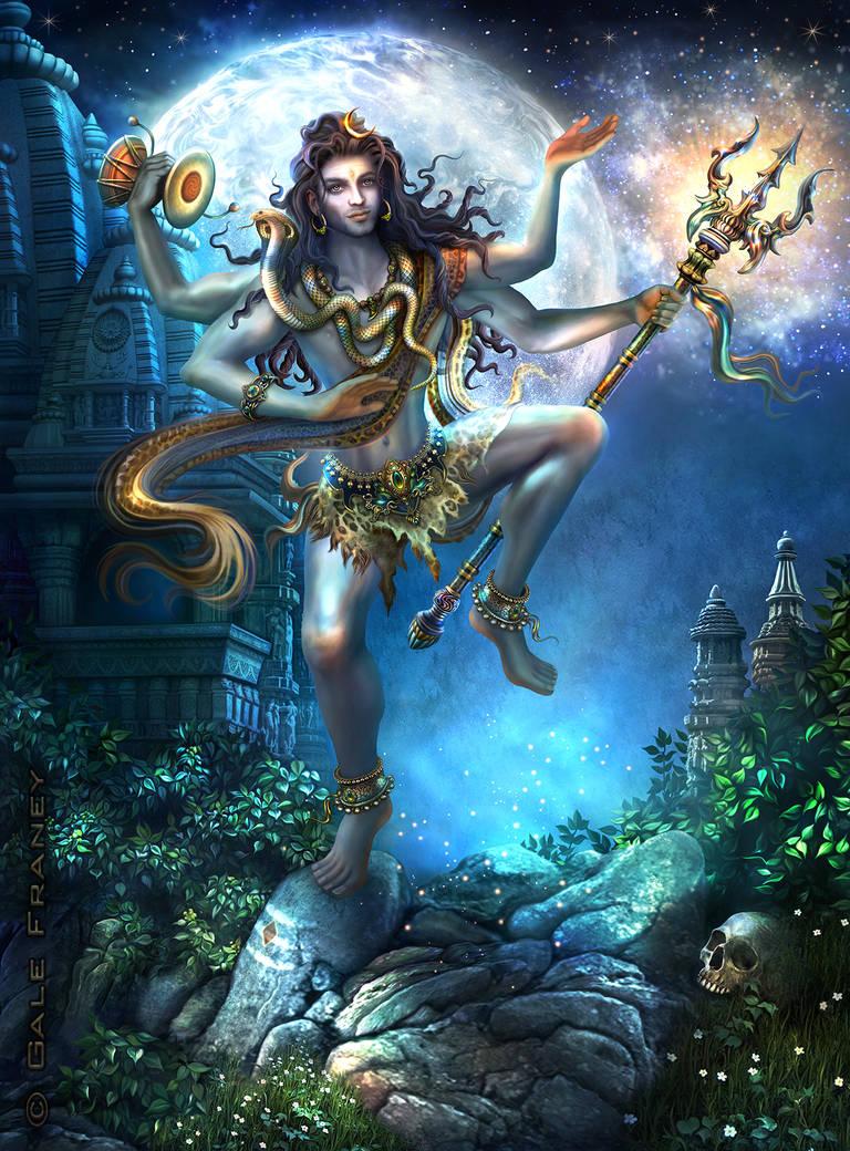 Shiva Nataraja Ananda Tandava by galefra
