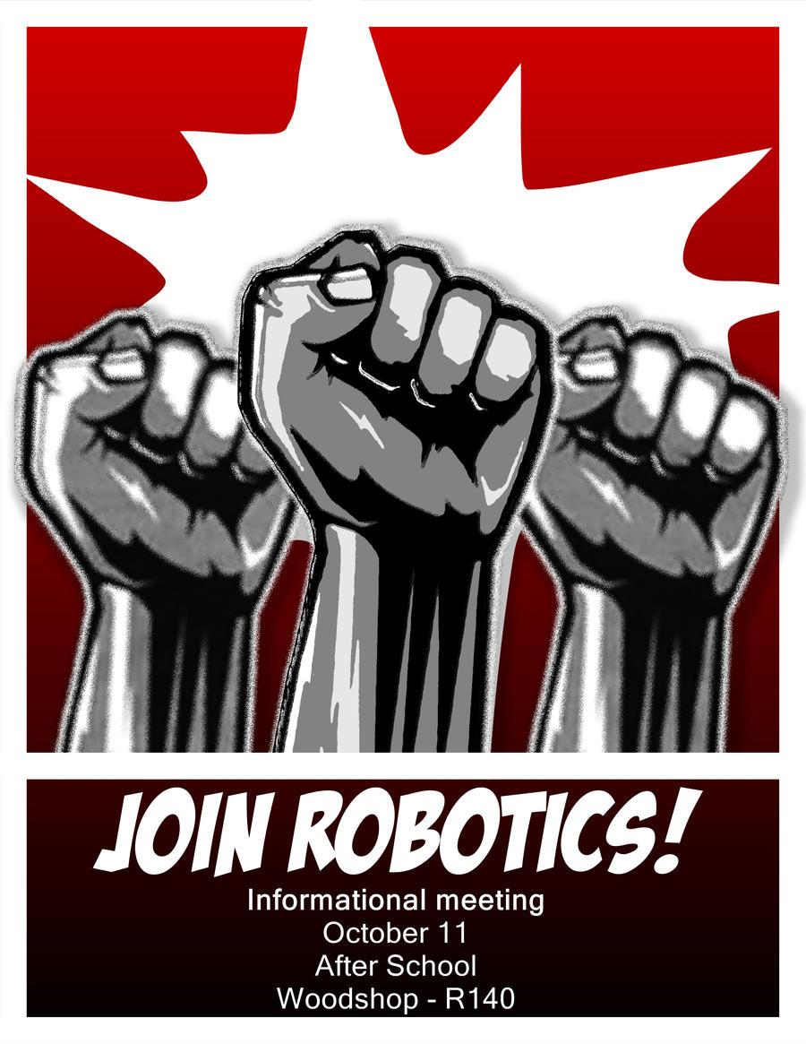 Robotics Recruitment Poster By Furaha015 On Deviantart