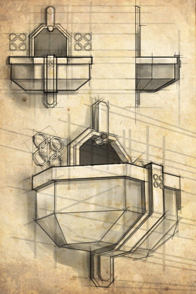 Defensive Balcony Detail - Erebor