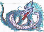 Water Dragon (colored)