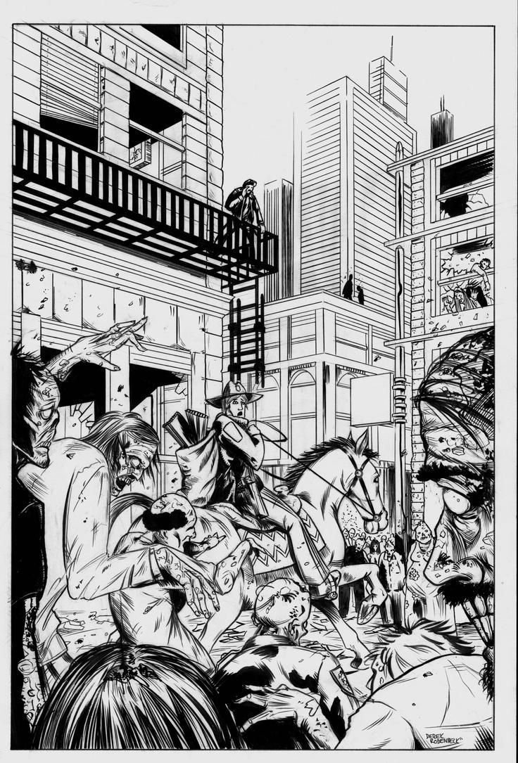 The Walking Dead Rick Atlanta by DerekRodenbeck