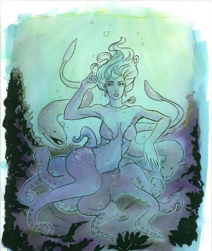 Ursula Little Mermaid by DerekRodenbeck