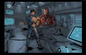 Iron man WIP by DerekRodenbeck