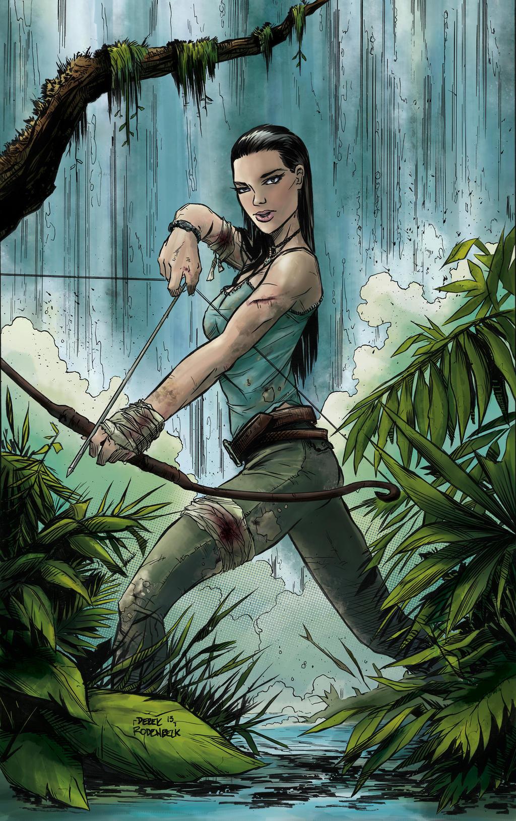 Lady Lara Croft by DerekRodenbeck